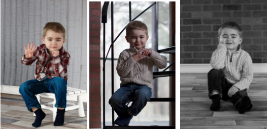 3 photos of a young boy by Dianna Frausto-Gonzalez photo critique