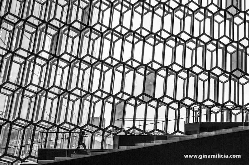 Above: Harpa Concert Hall and Conference Centre